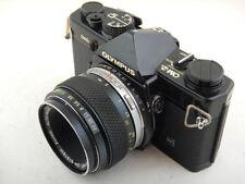 Olympus OM-2n 35mm + 50mm f3.5 Macro Zuiko lens SLR Film Camera OM-System EXC