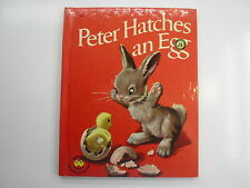 Peter Hatches an Egg, Marcel Marlier art, Wonder Books, Washable Covers, 1962