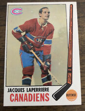 1969 Topps Set Break Jacques Laperriere Montreal Canadiens #3