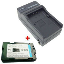 CGR-D08R Battery&Charger for PANASONIC PV-DV102D PV-DV103D PV-DV203D PV-DV400D