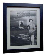 MIKE OLDFIELD+Incantations+POSTER+AD+RARE ORIGINAL 1978+FRAMED+FAST GLOBAL SHIP