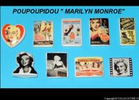 "SERIE COMPLETE DE FEVES POUPOUPIDOU ""MARILYN MONROE "" 2018"
