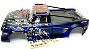 Arrma INFRACTION 6s - Body Shell (BLUE painted, roll cage Street Bash ARA7615V2