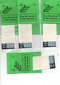 CR , Commonwealth Railways AN ANR white logos etc 5 packs deal FREE POSTAGE