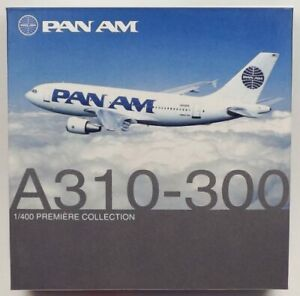 Dragon Wings 55591 Pan American Airbus A310-324ET 1/400 Scale Diecast Model