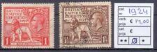 Engeland Kavel serie gestempeld uit 1924, leuk koopje