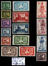 INDOCHINE : 14 TIMBRES des années 40, Neufs ** = Cote 22 € / Lot COLONIES