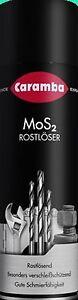 (7,80€/Li) Caramba MOS2 Rostlöser, Schmieröl, Kriechöl, 500 ml