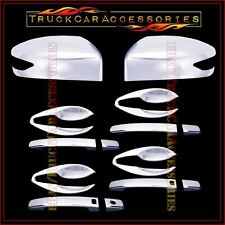 For NISSAN Altima 2013 Chrome Covers Mirror Signal+4 Doors Smart+Door BOWL Plate