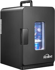 Portable Mini Car Fridge Small Refrigerator Freezer 15L Compact Fridge