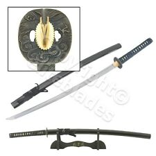 Musashi Hand Forged Folded Damascus Steel Samurai Katana Sword Razor Sharp #279
