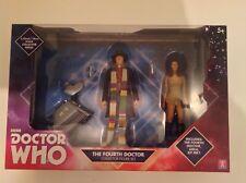 4th Doctor Tom Baker Leela K9 B&M Collector Set NEW SEALED DR WHO 5 inch Figures