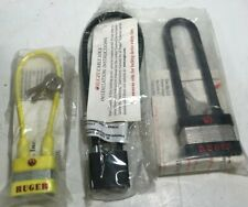 (3) NIP RUGER Gun Locks - Cable Lock, Shot Lock, + 5050 Lock