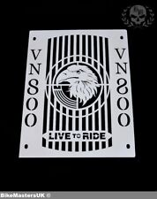 KAWASAKI VN800 VULCAN CLASSIC STAINLESS STEEL RADIATOR COVER GRILL GUARD - EAGLE