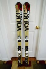 New listing VOLKL UNLIMITED AC 7.4 SKIS SIZE 142 CM WITH MARKER BINDINGS