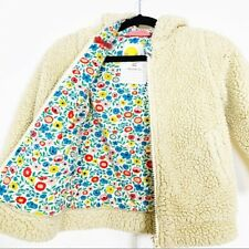 Girls Mini Boden 2T 3T Plus Teddy Bear Jacket