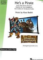Klavier Noten : He's a Pirate (Filmmusik) leMittelst. Fluch der Karibik