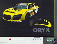2012 Rolex Grand Am Series Audi R8 Homestead Hero Card