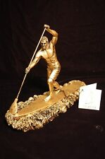 Awesome Sup 7 Inch Surf Racer with Paddle Figurine Paddleboard Trophy Award New!