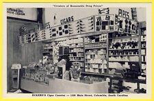 cpa U.S.A. SOUTH CAROLINA COLUMBIA ECKERD'S CIGAR DRUG Commerce BUREAU de TABAC