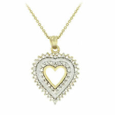 Gold Diamond Not Enhanced Fine Necklaces & Pendants