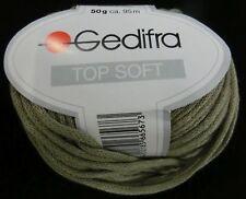 (126 €/kg): 450 g Top Soft, Bändchengarn mit Seide, Gedifra, Fb. 6567 grün#1967