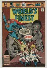 WORLDS FINEST # 241**SUPERMAN & BATMAN **1976***VERY FINE MINUS  7.5