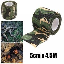 5cm x 4.5m Telescopic Camping Outdoor Hunting Tool Camouflage Stealth Tape Wrap