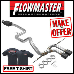 """Flowmaster Outlaw 3"""" Cat-Back Exhaust Kit 2013-2018 Ford Focus ST 2.0L TURBO"""