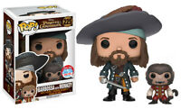 RARE Barbossa with Monkey NYCC LE1000 Funko Pop Vinyl New in Mint Box + P/P