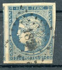 STAMP / TIMBRE FRANCE CLASSIQUE OBLITERE N° 4 COTE 45 €