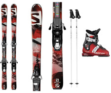 Salomon Jr Ski Packages - Skis, Boots and Poles