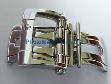ULYSSE NARDIN Polish STAINLESS STEEL 18mm Deployment Deployant Buckle Clasp NEW!