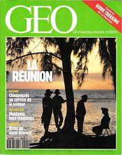 GEO N° 144--LA REUNION/CHIMPAZES/MOLDAVIE/MONT AIGOUAL CEVENNES
