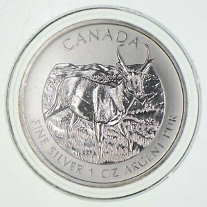 Better Date - 2013 Canada $5 - 1 Oz. Silver Pronghorn Antelope *688