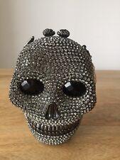 Skull Clutch Bag with Swarowski elements RRP:£550