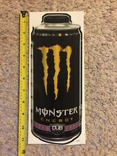 "Monster Energy Dub Edition Logo Can 11"" Sticker Decal Sponsor Sheet Kit"