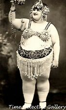 Circus Fat Lady - 1920s - Historic Photo Print