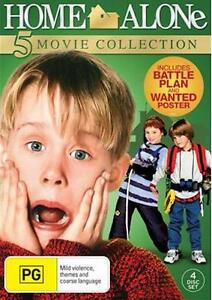 HOME ALONE 1 2 3 4 5 : NEW DVD