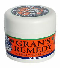 Grans Remedy for Smelly Feet and Footwear 50g(Scented)