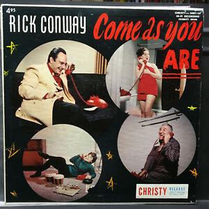 Rick Conway COME AS YOU ARE 60's Comedy Lp Vinyl Record CHRISTY HI FI 5001 Lt Ed