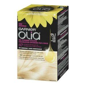 Garnier Olia Color Oil-Rich Permanent Hair Color, choose color no ammonia