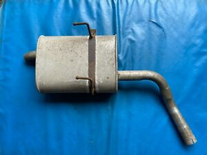 Rover 75/MG ZT 1.8 Exhaust Back Box (Part #: GT Exhausts 3208H18 55847)