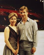 Original hand signed photo of Torvill & Dean 10 x 8 in mounted, by Mel Longhurst