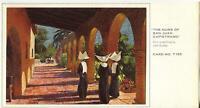 VINTAGE CHRISTMAS NUNS SAN JUAN CAPISTRANO CALIFORNIA CONVENT GREETING ART CARD