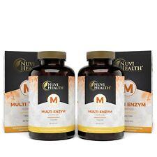 2x Multi Enzym Komplex = 240 Kapseln (vegan) - 7 Enzyme + Betain -  Hochdosiert