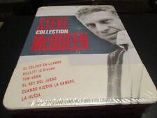 "NUEVO!!! COLECCION 7 DVD ""STEVE McQUEEN"" edicion espagnola (Bullitt, Tom Horn, ."