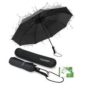 Roamwild SuperBRO Teflon Fast Drying Automatic Compact Travel Folding Umbrella