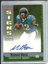 Maurice Jones-Drew 2006 Bowman Signs fo the Future Autograph