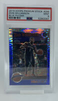 2019 Panini Hoops Premium Zion Williamson #296 Blue Pulsar Prizm RC PSA 9 Pop 1!